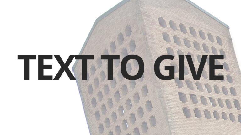 New Vision Baptist Church Text 2 Give